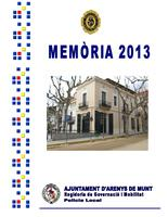 Memòria Policia Local 2013