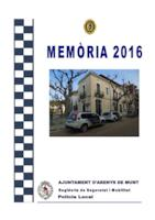 Memòria Policia Local 2016